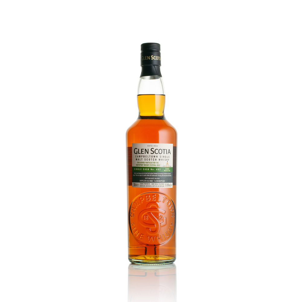 Glen Scotia 2002 Cask Strength