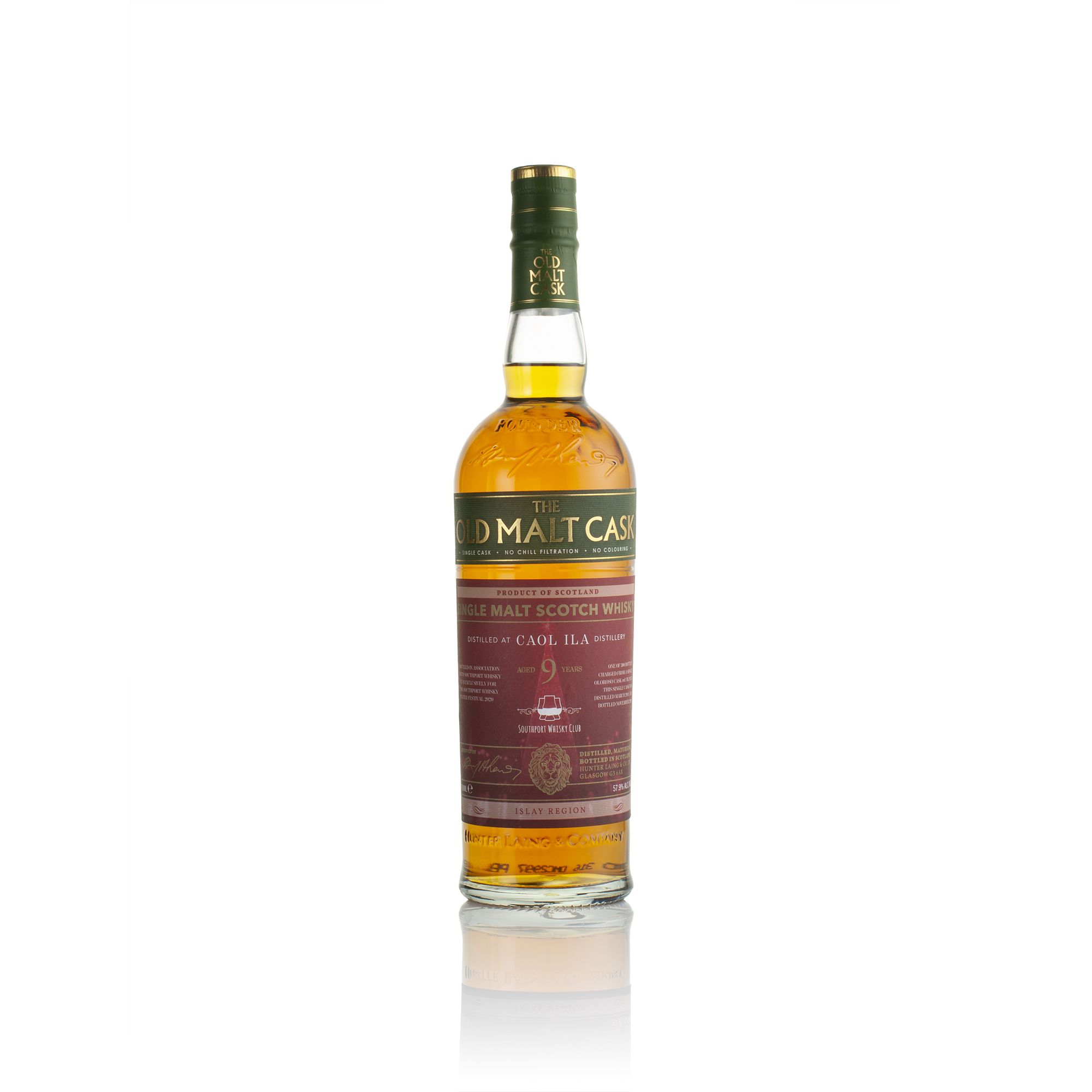 Caol Ila 9yo Single Cask HL18235