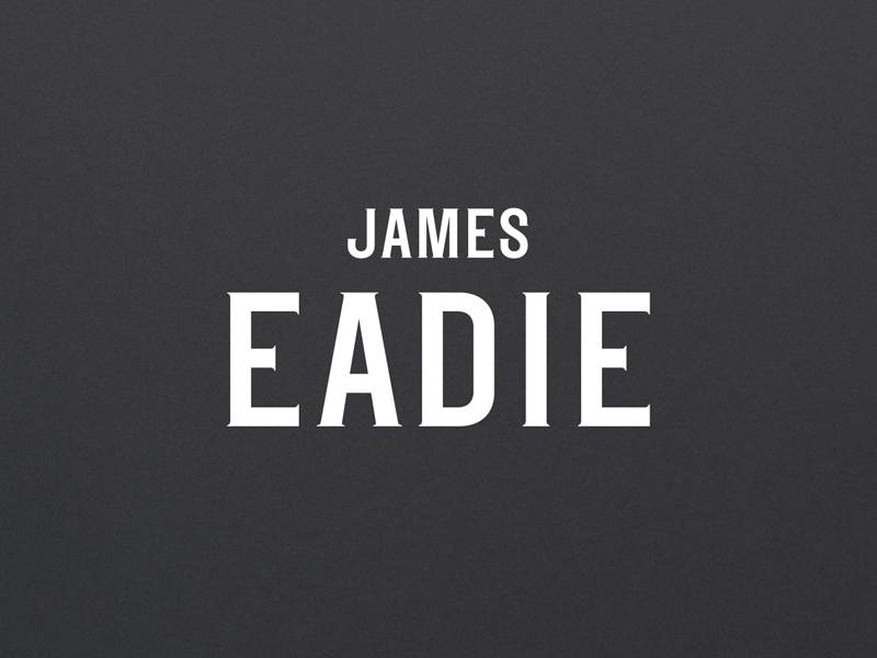 James Eadie Tasting