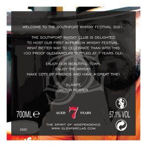 Glenfarclas 7yo 100 proof – Southport Whisky Festival Exclusive