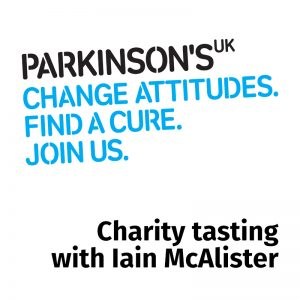 Parkinson's UK Charity Tasting with Iain McAlister